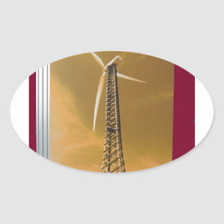 NVN16 NavinJOSHI Natural CLEAN Wind Energy GIFTS Stickers