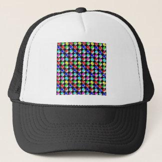 NVN20 NavinJOSHI Blue Purple Sparkle Chakra Sun 20 Trucker Hat