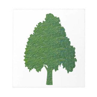 NVN21 navinJOSHI Aritistic Acrylic base GO GREEN Memo Note Pad