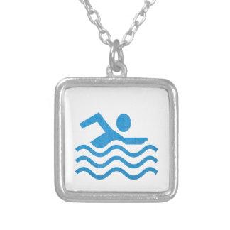 NVN24 navinJOSHI Swimming Sucess Swim Swimmer 101 Pendant