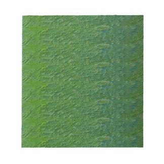 NVN26 navinJOSHI Green Acrylic DIY TEMPLATE txt im Note Pads