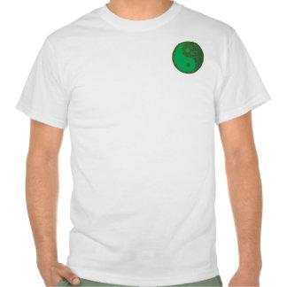 NVN27 navinJOSHI Green Balance YIN YANG Chinese T Shirts