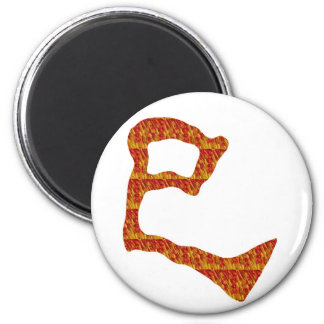 NVN31 navinJOSHI Chinese Character Golden Red GIFT Fridge Magnet