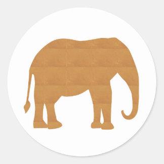 NVN353 Elephant Pet Animal Doll Game Kids FUN Sticker