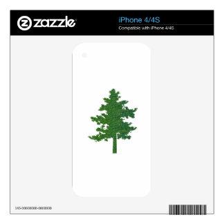 NVN37 navinJOSHI Symbolic Green Environment Tree iPhone 4S Decals