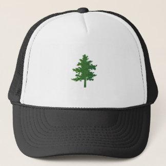 NVN37 navinJOSHI Symbolic Green Environment Tree Trucker Hat