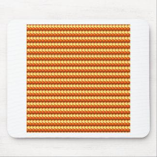 NVN3 Orange Golden Triangle Energy Art  NavinJOSHI Mouse Pad