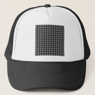 NVN4 Black Sq Rect Art by NavinJOSHI Trucker Hat