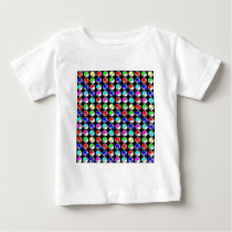 NVN5 NavinJOSHI Art Blue Red COLORFUL Sparkles Baby T-Shirt
