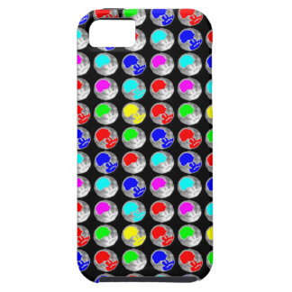 NVN5 NavinJOSHI Art Blue Red COLORFUL Sparkles iPhone 5 Cases