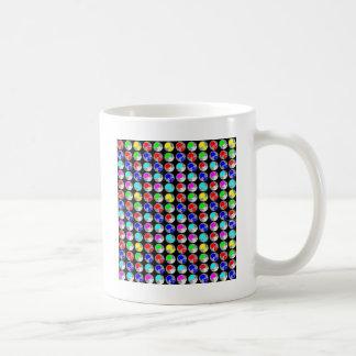 NVN5 NavinJOSHI Art Blue Red COLORFUL Sparkles Coffee Mug