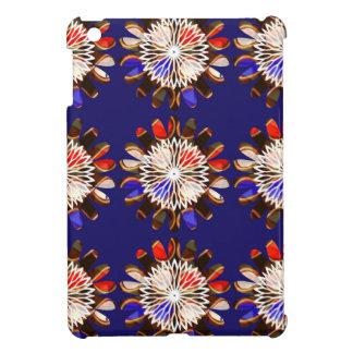 NVN6 Elegant BLUE Sunflower Sun CHAKRA NavinJOSHI iPad Mini Cover