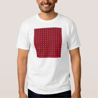 NVN7 NavinJoshi Art INTENSE RED Energy Squares T-Shirt