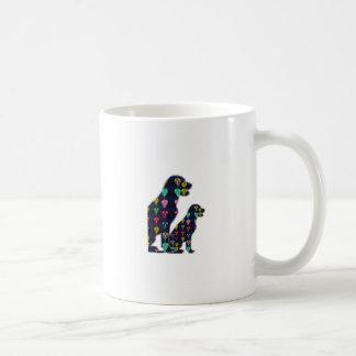 nvn88 dog PET LABRADOR dot painted pet navinJOSHI Coffee Mug