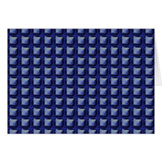 NVN8 NavinJOSHI Blue SQUARED art Card