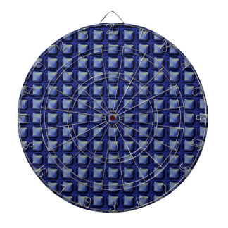 NVN8 NavinJOSHI Blue SQUARED art Dartboard