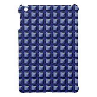 NVN8 NavinJOSHI Blue SQUARED art iPad Mini Case