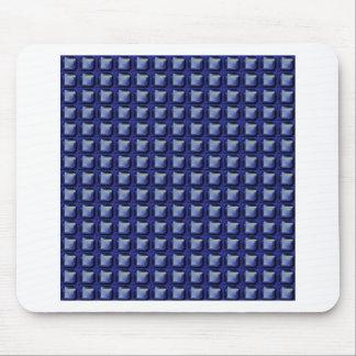 NVN8 NavinJOSHI Blue SQUARED art Mousepad