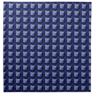 NVN8 NavinJOSHI Blue SQUARED art Printed Napkins