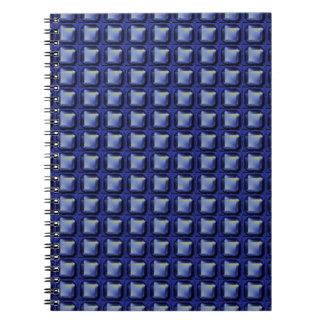 NVN8 NavinJOSHI Blue SQUARED art Note Book