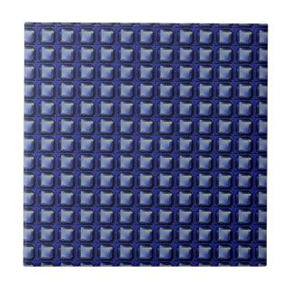 NVN8 NavinJOSHI Blue SQUARED art Tile