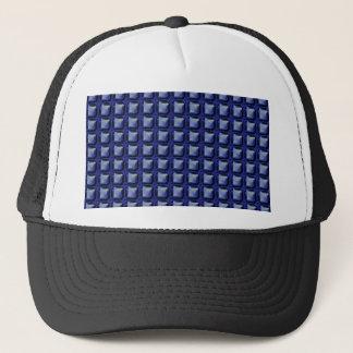 NVN8 NavinJOSHI Blue SQUARED art Trucker Hat