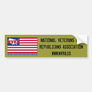 NVRA Bumper sticker