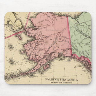 NW America Map by Mitchell Mouse Pad