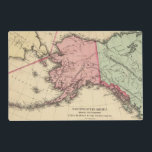 """NW America Map by Mitchell Placemat<br><div class=""""desc"""">NW America. By Mitchell,  Samuel Augustus (187). Published by &#39;&#39;Philadelphia:  S.A. Mitchell,  Jr.; Chicago: R.A. Campbell&#39;&#39;.</div>"""