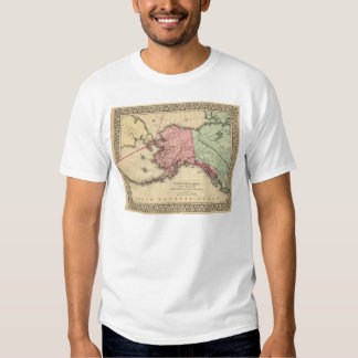 NW America Map by Mitchell T Shirt
