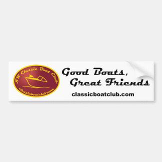 NW Classic Boat Club Bumper Sticker Car Bumper Sticker