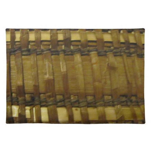 NW Coast woven fibers Place Mat