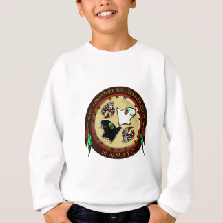 NW Miniature bull terrier logo photoshop 300 dpi n Sweatshirt