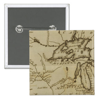 NW Territory 2 Inch Square Button