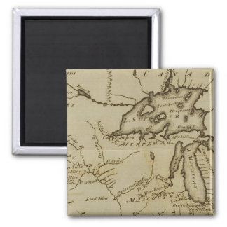 NW Territory 2 Inch Square Magnet