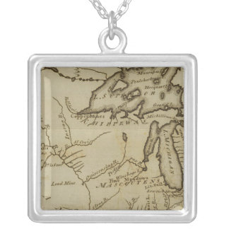 NW Territory Square Pendant Necklace