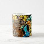 NWA 5480 Meteorite Thin Section Coffee Cup 02 Classic White Coffee Mug