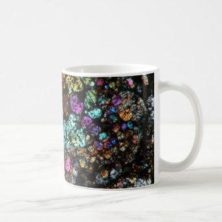 NWA Meteorite Thin Section Coffee Cup 03