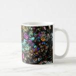 NWA Meteorite Thin Section Coffee Cup 03 Classic White Coffee Mug