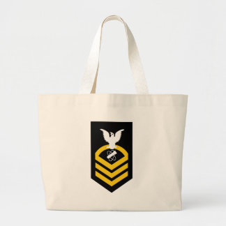 NWC Chief Nuclear Weaponsman (Obsolete Rating) Large Tote Bag