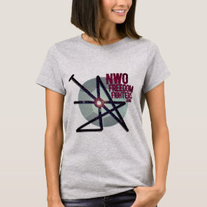 NWO FREEDOM FIGHTER SIGIL T-SHIRT