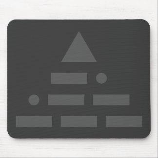 NWO (morse code) Mouse Pad