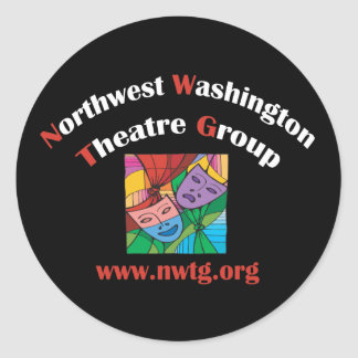 NWTG Gifts Classic Round Sticker
