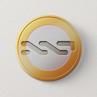 NXT Coin Round Button