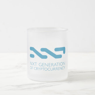 NXT Frosted Glass Mug