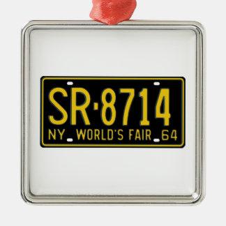 NY64 METAL ORNAMENT