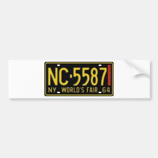 NY65 CAR BUMPER STICKER