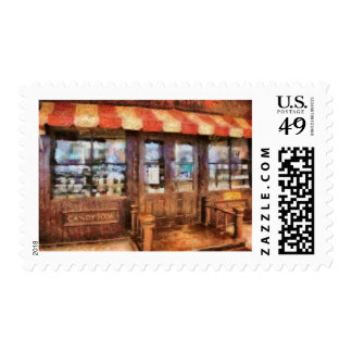 NY - 77 Water Street - Candy Store Postage Stamp