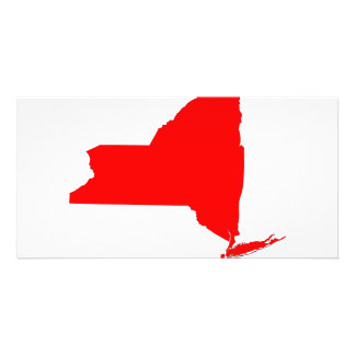 NY a Red State Photo Greeting Card