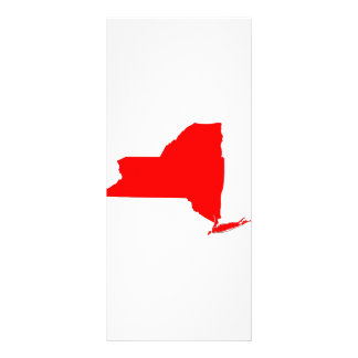 NY a Red State Rack Card